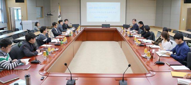 忠南研究院で「ささえ合い交通」を説明